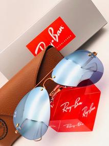 5f6914e73f Gafas, Lentes Rayban Aviador Semiespejo Filtro Uv 400 - Gafas De Sol Ray-Ban  en Mercado Libre Colombia