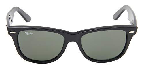 f6744357eb Gafas De Sol Ray-ban Rb2140 901 Wayfarer Negras / Verdes ...