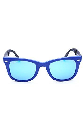 Gafas De Sol Ray-ban Wayfarer Square - Lente Azul Marco Az ...