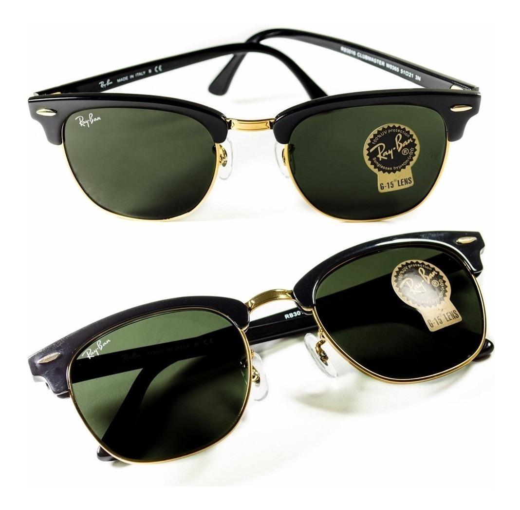 2bed69156e gafas de sol rayban club master rb3016 negro originales. Cargando zoom.
