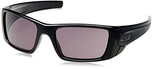 62c9f1875e Gafas De Sol Rectangulares Oakley Fuel Cell, Marco Negro Pul ...