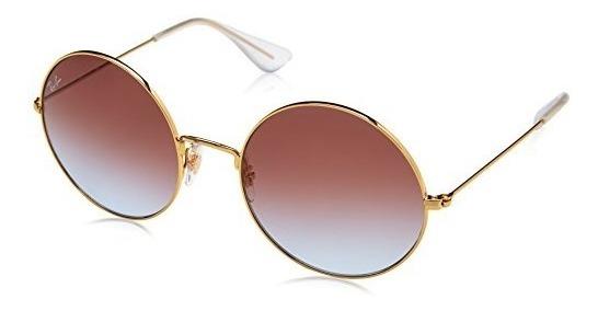 mejor selección excepcional gama de colores precio limitado Gafas De Sol Redondas Ja-jo De Mujer Ray-ban, Dorado, 55 Mm