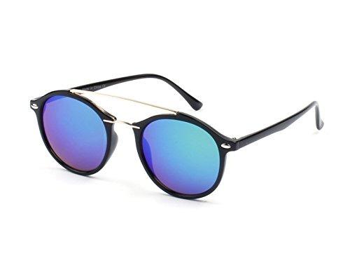 f84783787d Gafas De Sol Redondas P3 Modernas Con Barra De Metal Cramilo ...