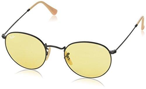 35140b9809f07 Gafas De Sol Redondas Ray-ban Para Hombres