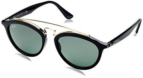disfruta el precio más bajo gran ajuste linda Gafas De Sol Redondas Rayban Para Mujer New Gatsby Ii Negras