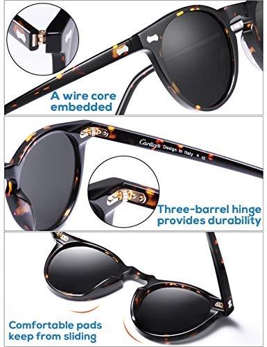 27aa611158 Gafas De Sol Redondas Vintage - Gafas De Sol Polarizadas Car ...
