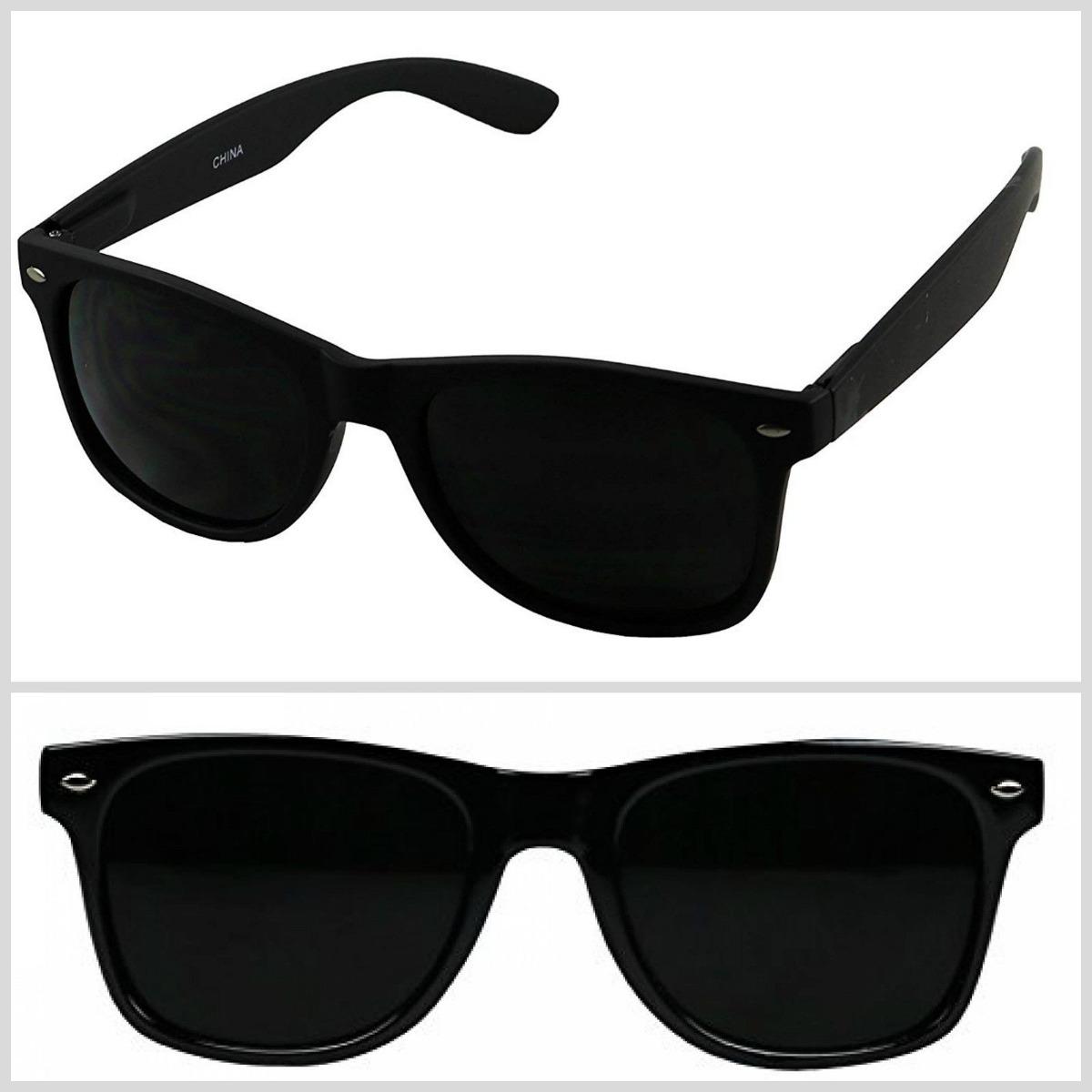 50efc33adf gafas de sol retro vintage años 80 lentes oscuro negro. Cargando zoom.