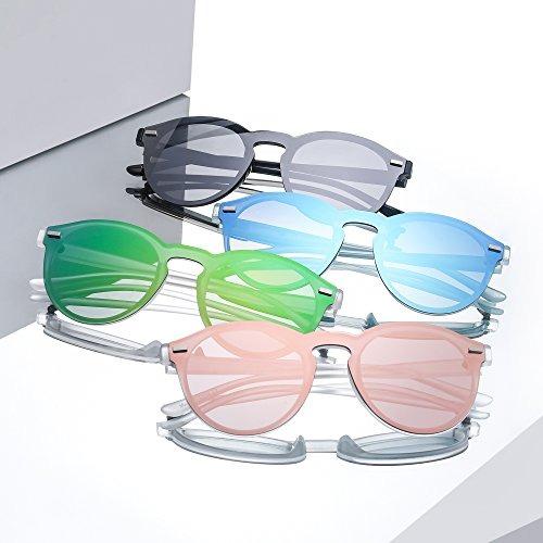 5cb44fcaa0c5a Gafas De Sol Sin Montura Polarizadas Reflexivas Espejo Con M -   160.900 en  Mercado Libre