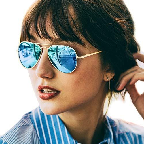 d853b68a1d286 Gafas De Sol Tipo Aviador Para Mujeres Polarizadas Con... -   30.990 ...