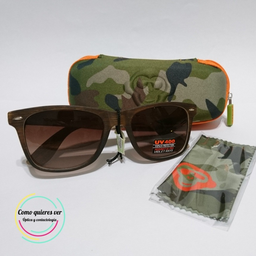 8bdc95a780 Sol De Wayfarer Gratis1 Envio Caba Gafas 400 Tipo Grove Monkey mN80wn