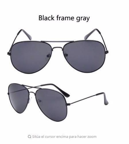gafas de sol unisex espectaculares, de moda con estuche