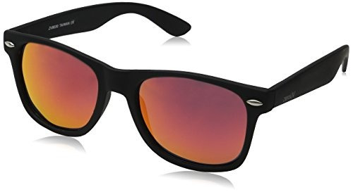 fb5c56823f Gafas De Sol Wayfarer Polarizadas Zerouv Zv-8030e, Negro, 58 ...