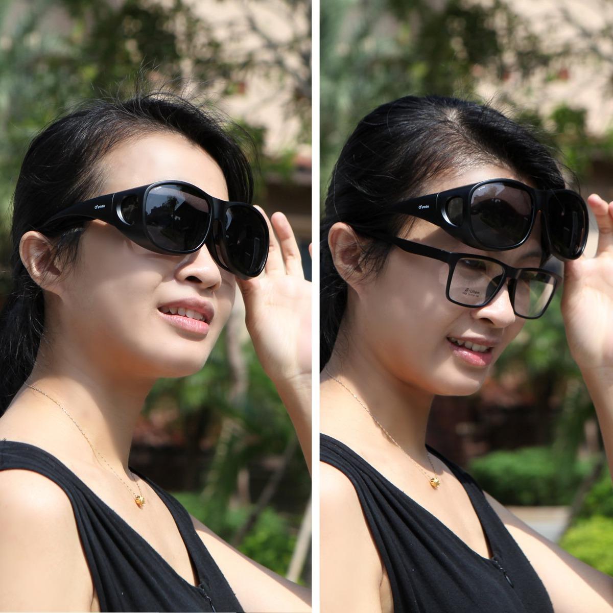 c440b9196d Gafas De Sol Yodo Fit Over Glasses Con Lentes Polarizadas - $ 54.578 en  Mercado Libre