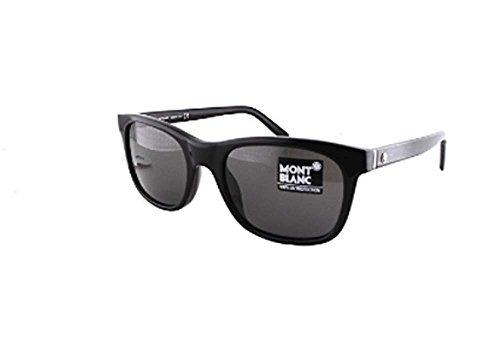 43580417a1 Gafas De Sol,mont Blanc 507 01a Negro 507s Wayfarer Gafa ...