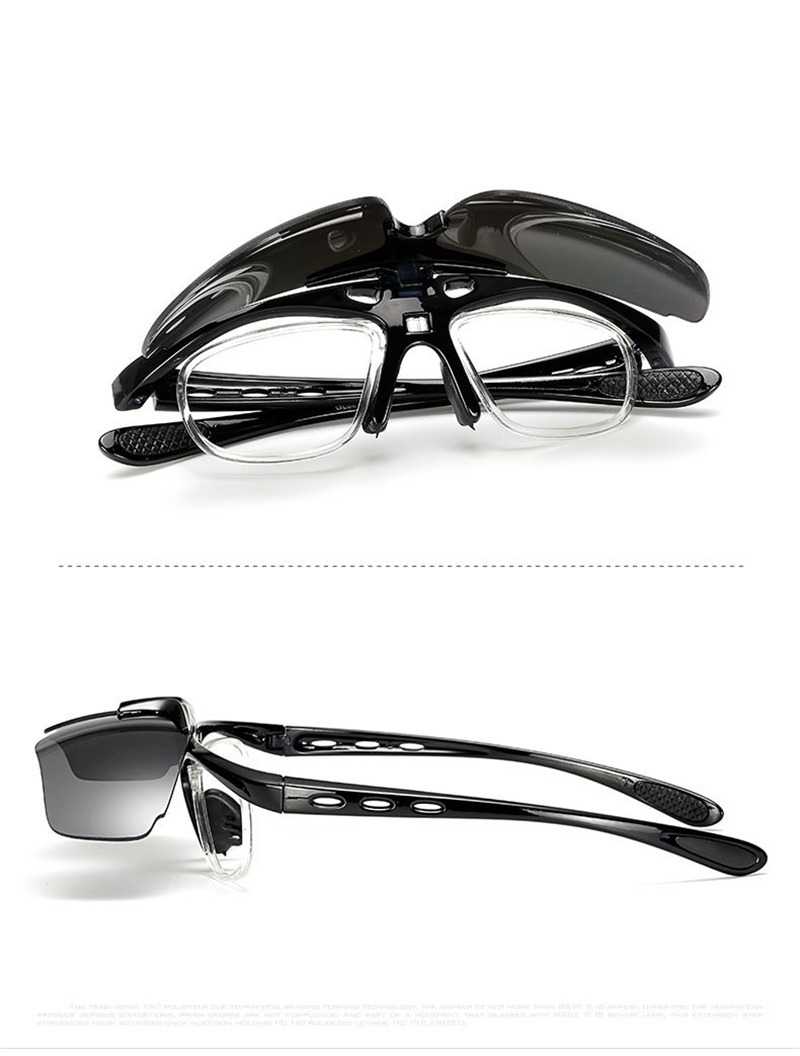 Gafas Deportivas Marco Optico Lente Movible Ciclismo Uv400 ...