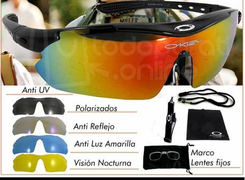 gafas deportivas polarizadas intercambiables ciclismo moto