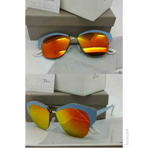 gafas dio mirrored red