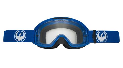 gafas dragon mdx2 mx/todoterreno azul/transparente