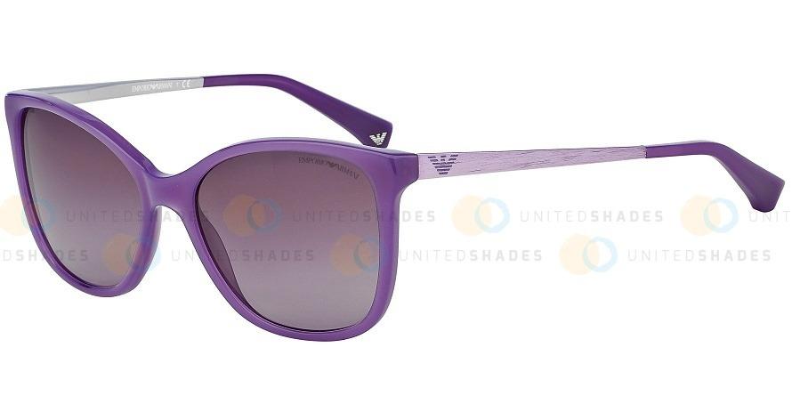 a12c003b3e Gafas Emporio Armani Ea402551288h55 Color Purpura - $ 209.900 en ...