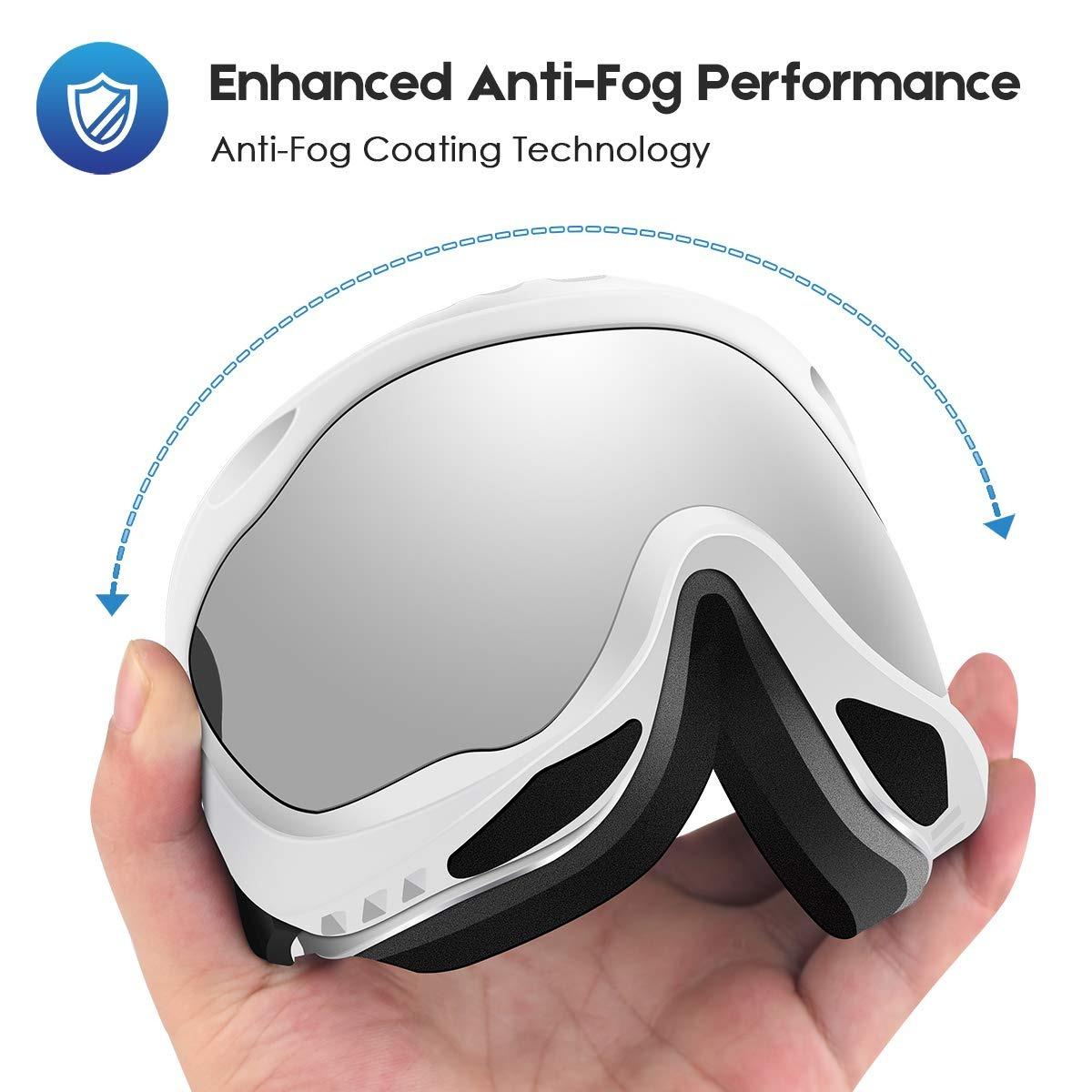 2bb60fc598 gafas esquí ski snowboard unisex antiempañamiento deecreek. Cargando zoom.