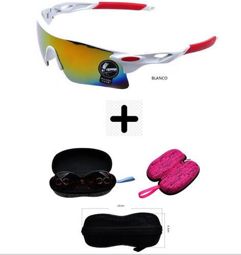 gafas fashion higt gratis estuche deportivas rayos uv
