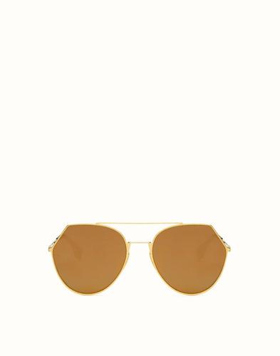 gafas fendi doradas ff 0042/s mujer original envío gratis