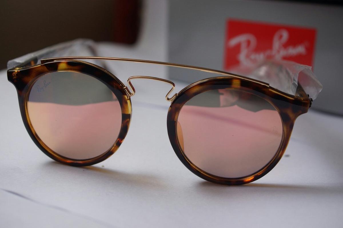 gafas gatsby de sol ray ban rb4256 espejada rosa originales. Cargando zoom. a1cb11bc460