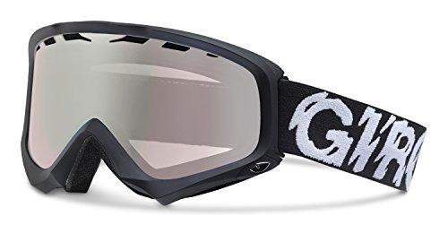 gafas giro station (marco negro, lente rosa plateado)