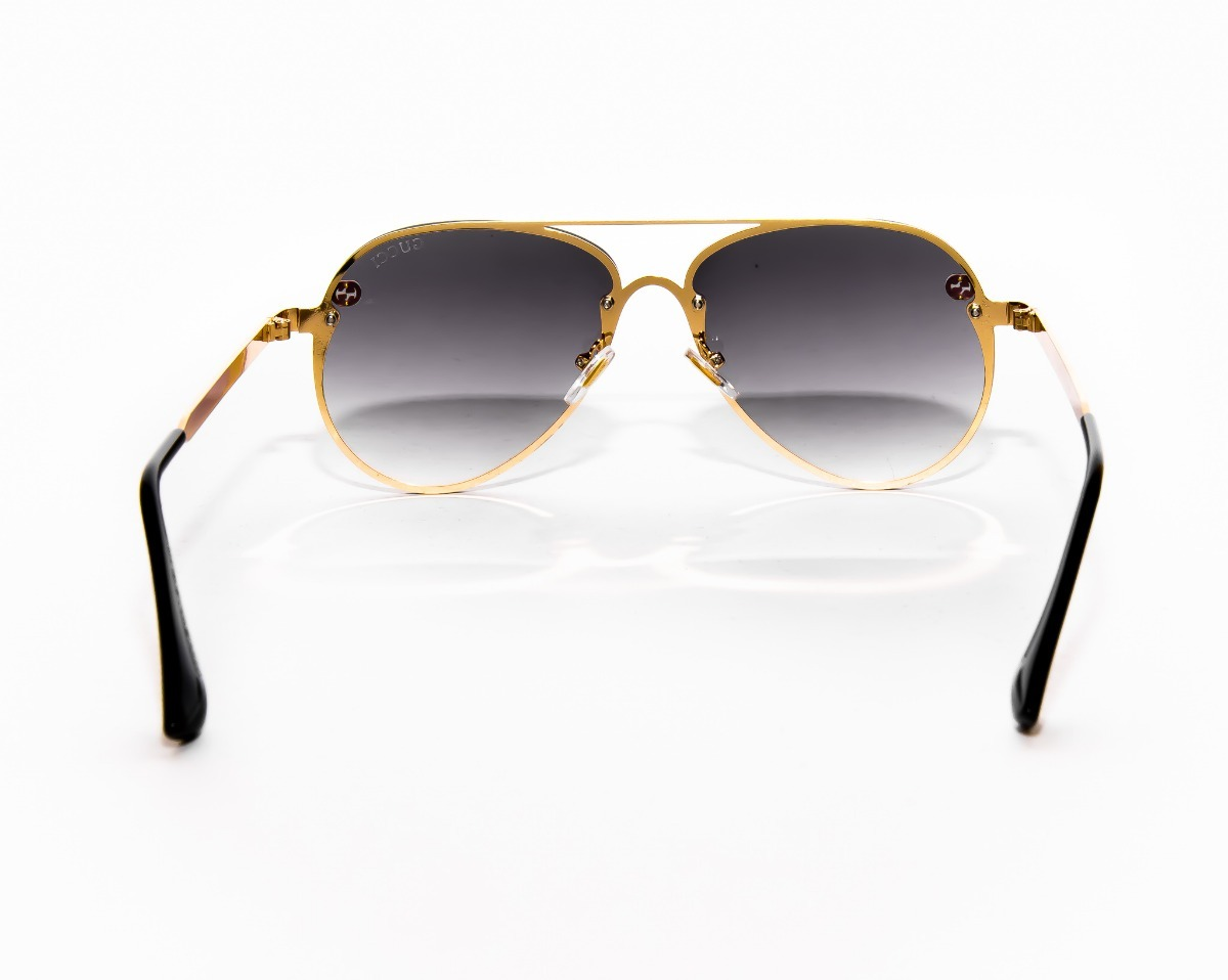 fbddcfd936 Gafas Gucci Aviador Unisex - Envio Incluido - $ 149.000 en Mercado Libre