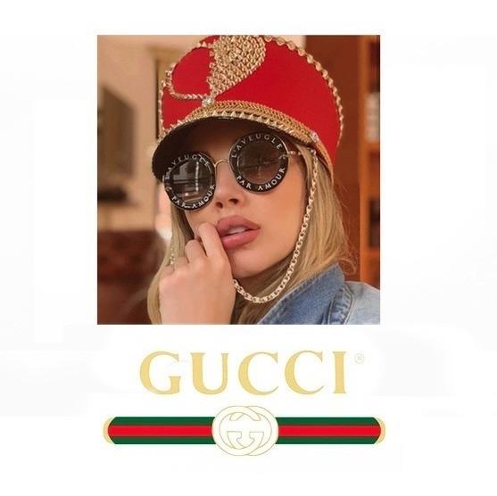 2a9b17a237 Gafas Gucci La Geluve Negras Envio Incluido - $ 149.000 en Mercado Libre