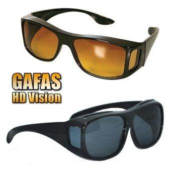 gafas hd para sol y noche lentes vision recibe 2 por 1