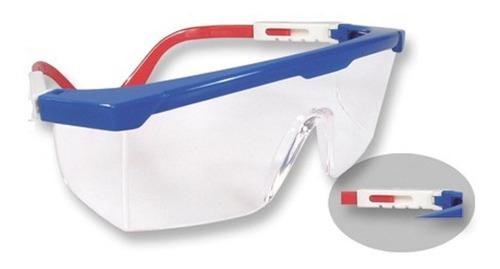 gafas industriales x 10 unid policarbonato trabajo seguridad
