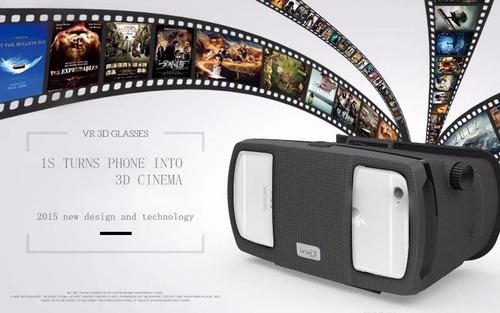 gafas lentes 3d realidad virtual original + control 2016