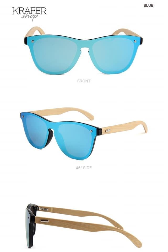 3e40c65a28 Gafas Lentes De Sol Marco Madera (krafer Shop) - $ 11.000 en Mercado ...
