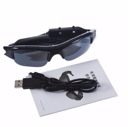 gafas lentes espia sport dvr hd camara oculta escondida sol
