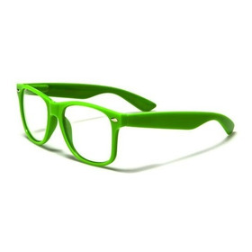 Gafas Lentes Monturas Marcos Filtro Uv 400 Ref Nerd001clr