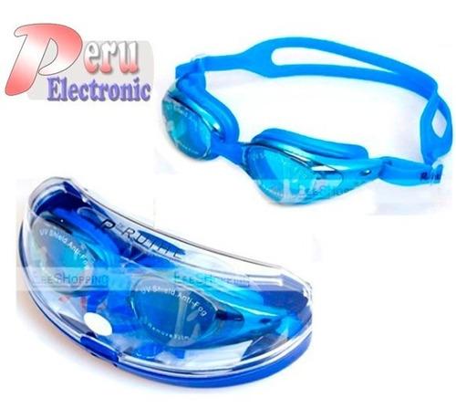 gafas lentes  para natacion profesional anti uv accesorios
