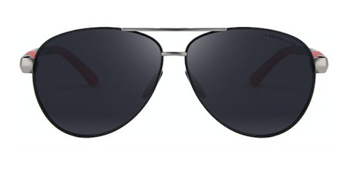 gafas lentes sol polarizados hd merrys 8404 negro rojo