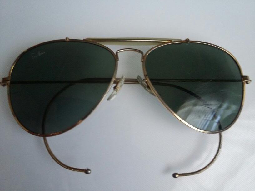 3e35513af07f7 gafas lentes sol ray ban aviador usa baush   lomb vintage. Cargando zoom.