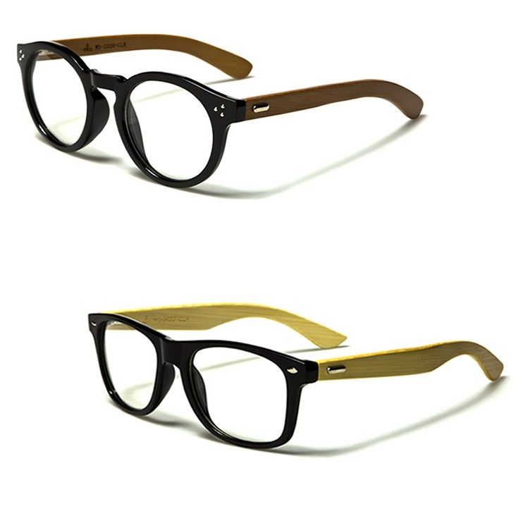 Gafas Madera Wood Round Monturas Lentes Marcos Oftálmicos - $ 59.900 ...