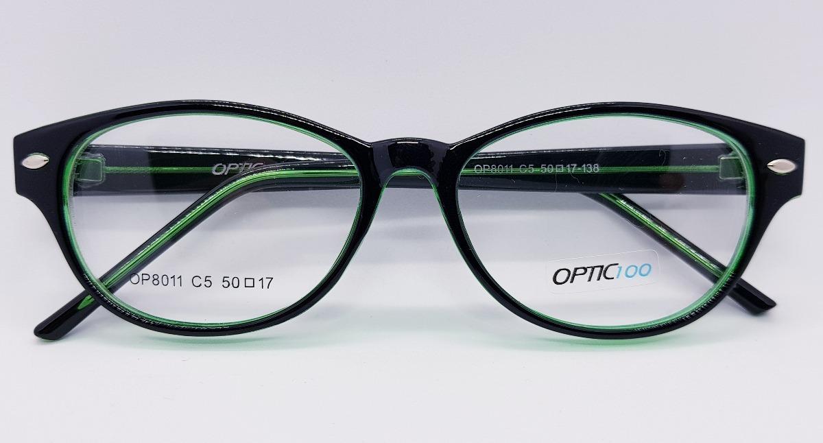 Gafas Marcos Montura Mujer Retro Combinado Plastico Oferta - $ 610 ...