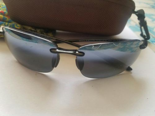 21b24732ef Gafas Maui Jim Ho Okipa Mj Sport Sunglasses Marco Negro Bri ...