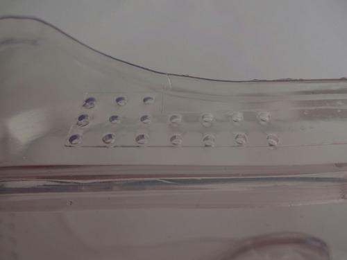 gafas monogafa anteojos trabajos vidrio particulas liquidos