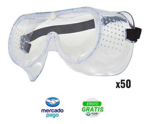 gafas monogafa seguridad industrial vidrio particulas liquid
