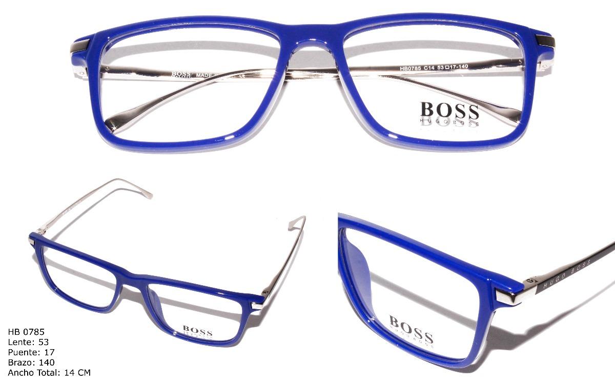 Gafas Montura Lentes Óptica Marco Para Hombre Hugo Boss - $ 89.900 ...