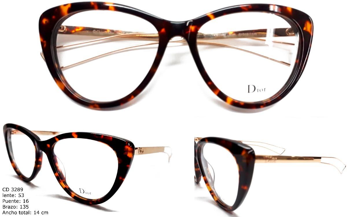 Gafas Montura Lentes Óptica Marco Para Mujer Dior - $ 89.900 en ...