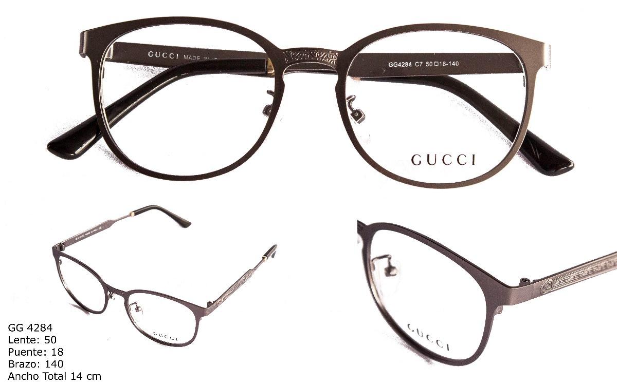 Gafas Montura Lentes Óptica Marco Para Mujer Gucci - $ 89.900 en ...
