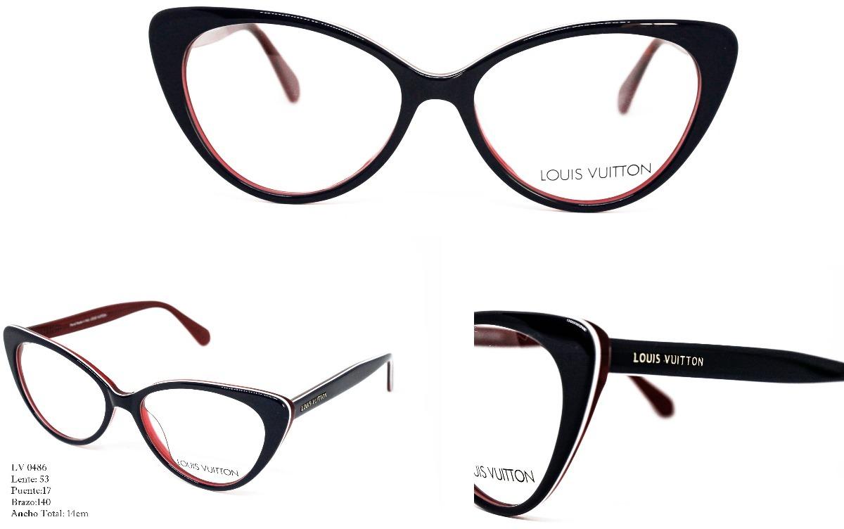 Gafas Montura Lentes Óptica Marco Para Mujer Louis Vuitton ...