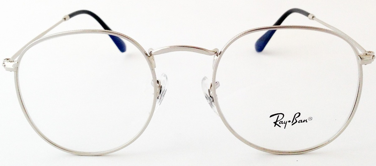 taglia 40 ee837 16756 Gafas De Vista Montura Rb3447v Round Metal Ray-ban Eyecare