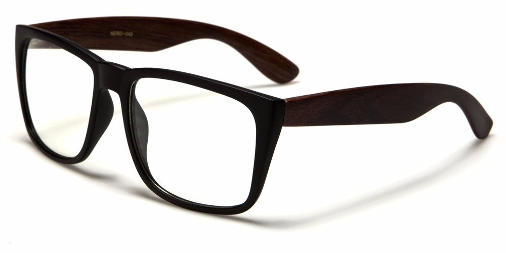 Gafas Monturas Nerd Tipo Wayfarer Lentes Formulados Nerd042 ...